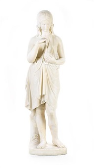 statue of a woman by benjamin edward spence