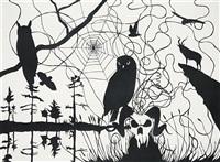 little owl by james aldridge
