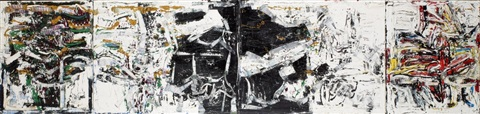 composition quadtriptych by jean paul riopelle