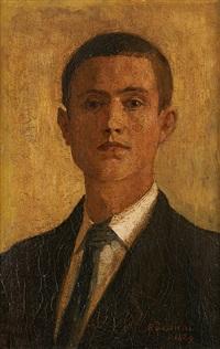 autoportrait à 16 ans by alfred théodore joseph bastien