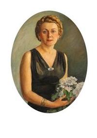 porträt einer dame by niko miljan