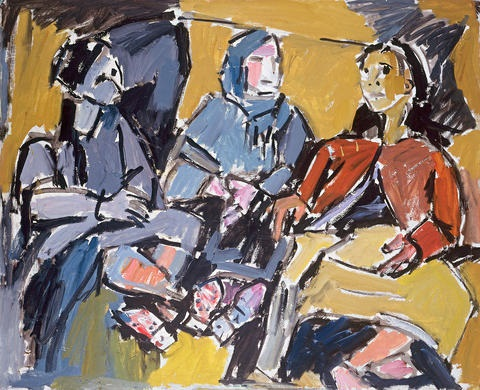 three women by pinchas litvinovsky
