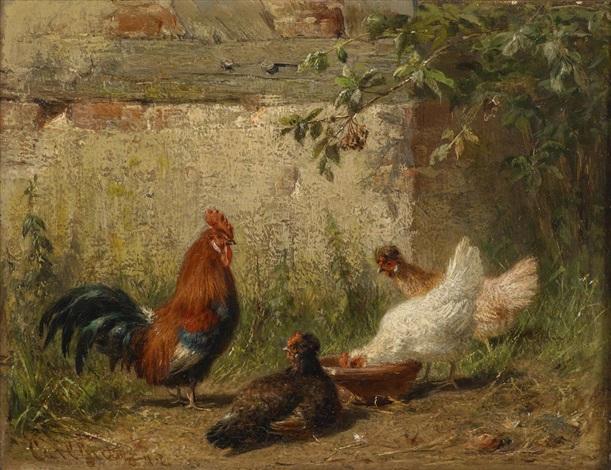 Hühnerhaltung Im Garten hühner im garten by carl jutz the elder on artnet