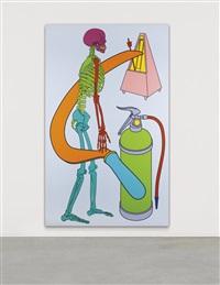 untitled (skeleton) by michael craig-martin