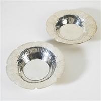 plates (pair) by william waldo dodge
