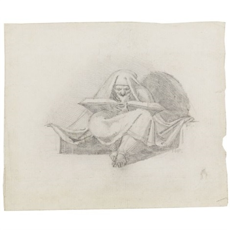 a sibyl 2 engravings of the same subject by charles grignon 3 works by henry fuseli