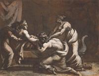 scène antique by théodore géricault