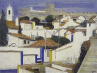obidos, portugal by ginette rapp