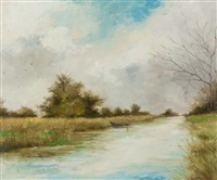 grand canal near straffan by leo early