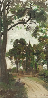 polwarth church by robert noble