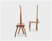 chair (+ another; 2 works) by park honggu