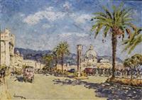 vue de la promenade des anglais et du casino, nice by francois joseph vernay
