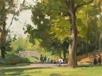 central park, ny by clyde aspevig