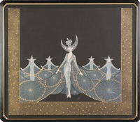 queen of the nighte by erté