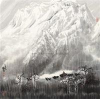 山水 by dong zhiqiang