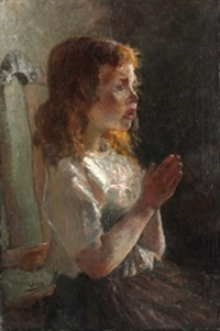 niña rezando by ventura alvarez sala