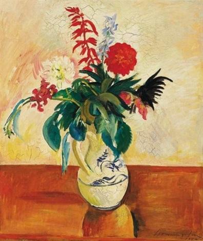 virágcsendélet still life of flowers by géza bornemisza