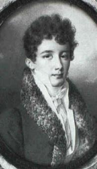 portrait de gentilhomme by henri-joseph hesse