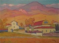 landscape by ivan ivanovich godlevsky