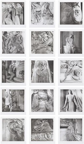 staglieno set of 15 by lee friedlander
