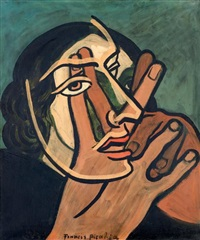 visage by francis picabia