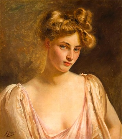 a blonde beauty by gustave jean jacquet