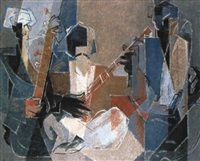 musiciens afghans by pierre loeb