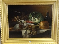 nature morte au lièvre by narcisse rabier
