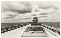manteo to the mainland, waiting for the drawbridge by nona short