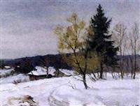 journée de mars by aleksandr andreievich gusarevich