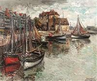 port de honfleur by jean rigaud