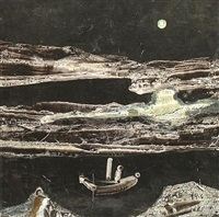 figure in a boat by charles s. (pic) higgins