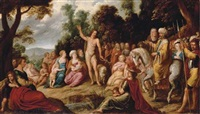 the predication of the baptist (collab. w/gaspard van den hoecke) by jan van den hoecke