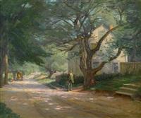 the old homestead, new ipswich, n.h. by lee lufkin kaula