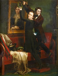 les deux frères by ary scheffer