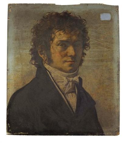 portrait dhomme by jean baptiste joseph wicar