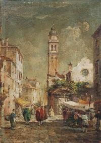 venedig - blick auf santa maria della salute by e. zeno