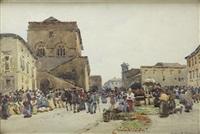 market morning, orvido by robert weir allan