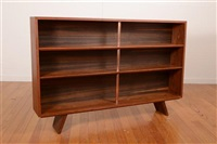 adjustable shelve bookcases (pair) by schulim krimper