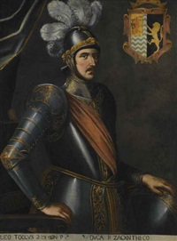 leonardo di tocco, duke of zakynthos by carlo sellitto