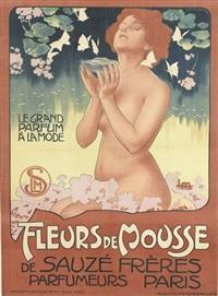 fleurs de mousse by leopoldo metlicovitz