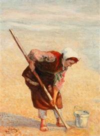 pêcheuse by yakow gotkowski