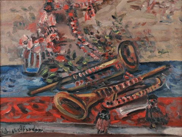 composition aux trompettes by alfred aberdam