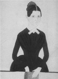 portrait of susan cahoon sweet of sweet lane, belleville, rhode island by jane anthony davis
