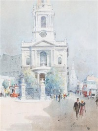 st. mary-le-strand, london by j. tim macdonald