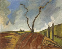 the tree by david bomberg