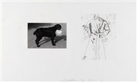 ohne titel (from photographs & etchings) by lee friedlander and jim dine