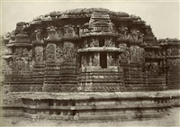 the great temple at halebidu (2 studies) by william henry pigou