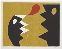 untitled (+ 2 others, one 1998; 3 works, various sizes) by charlie hewitt