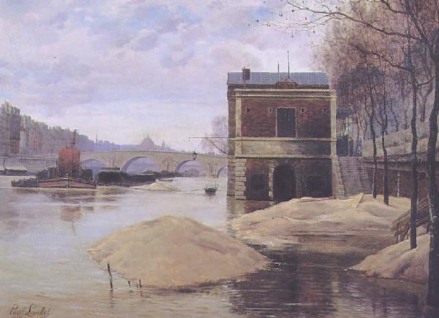 le pont marie à paris by paul françois louchet